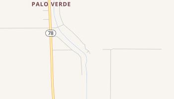 Palo Verde, California map