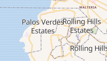 Palos Verdes Estates, California map