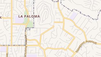 Panorama Heights, California map