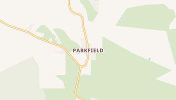 Parkfield, California map