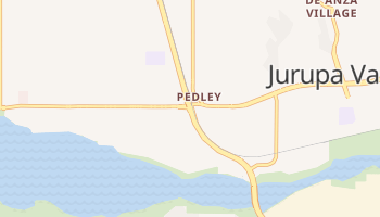Pedley, California map