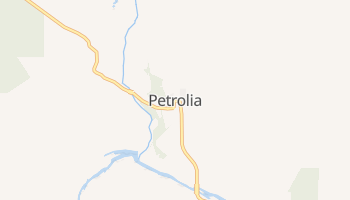 Petrolia, California map
