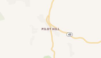 Pilot Hill, California map