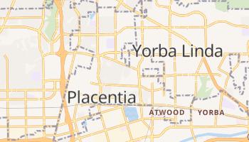Placentia, California map