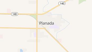 Planada, California map