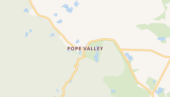 Pope Valley, California map