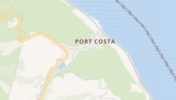 Port Costa, California map