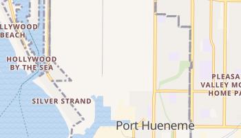 Port Hueneme, California map