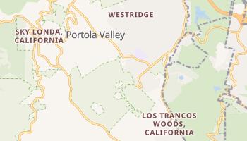 Portola Valley, California map