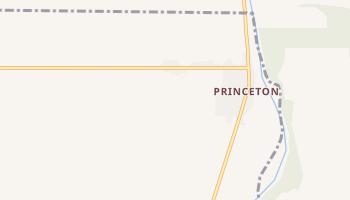 Princeton, California map
