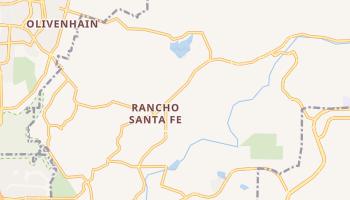 Rancho Santa Fe, California map