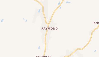 Raymond, California map