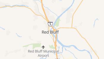 Red Bluff, California map