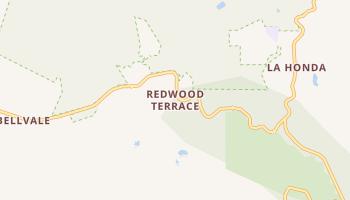 Redwood Terrace, California map