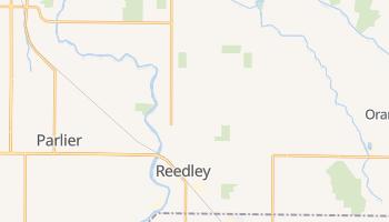 Reedley, California map
