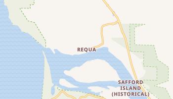 Requa, California map