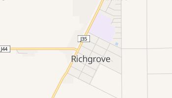 Richgrove, California map