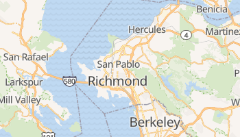 Richmond, California map