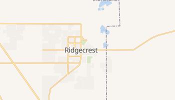 Ridgecrest, California map