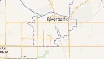 Riverbank, California map