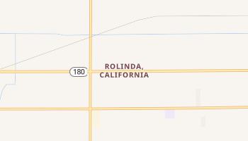 Rolinda, California map