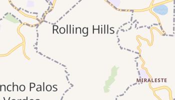 Rolling Hills, California map