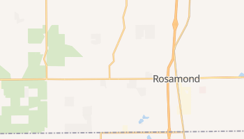 Rosamond, California map