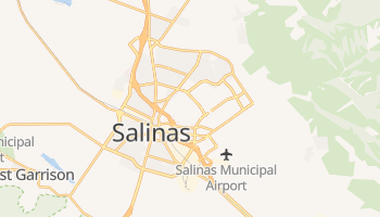 Salinas, California map