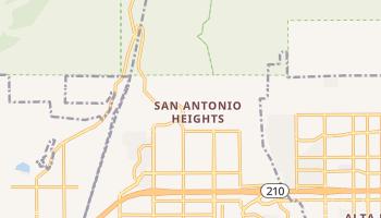 San Antonio Heights, California map