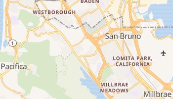 San Bruno, California map