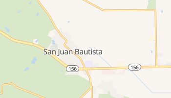 San Juan Bautista, California map