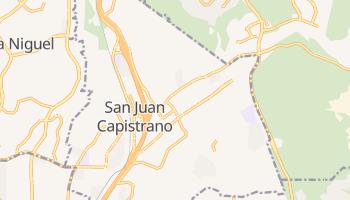 San Juan Capistrano, California map