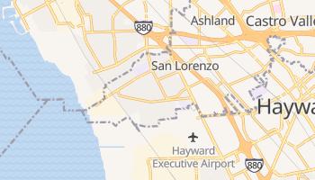 San Lorenzo, California map