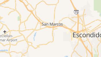 San Marcos, California map