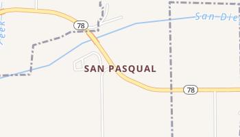 San Pasqual, California map