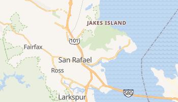 San Rafael, California map