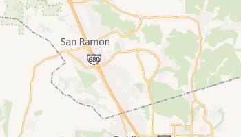 San Ramon, California map