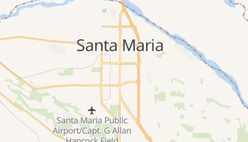 Santa Maria, California map