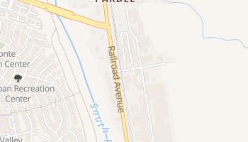 Saugus, California map
