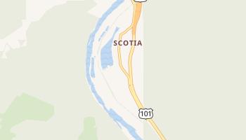Scotia, California map