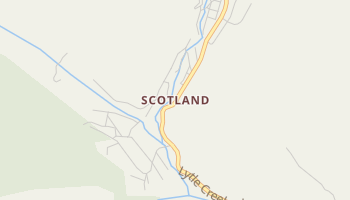 Scotland, California map