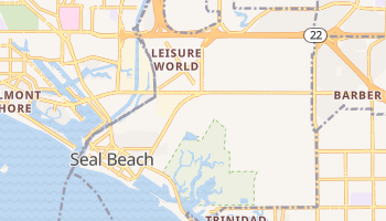 Seal Beach, California map