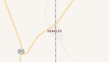 Searles, California map