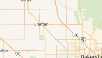 Shafter, California map
