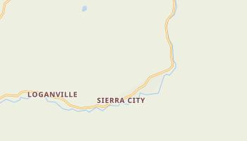 Sierra City, California map