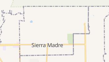 Sierra Madre, California map