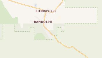 Sierraville, California map