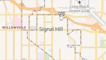 Signal Hill, California map