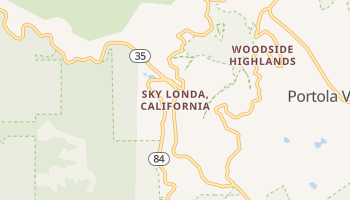 Sky Londa, California map