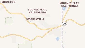 Smartville, California map